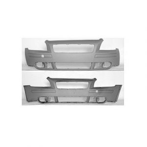VOLVO VOLVO S40 (New Style) FRONT BUMPER COVER PRIMED (W/O HEAD/LAMP Washer) OEM#399918374 2004-2007 PL#VO1000149